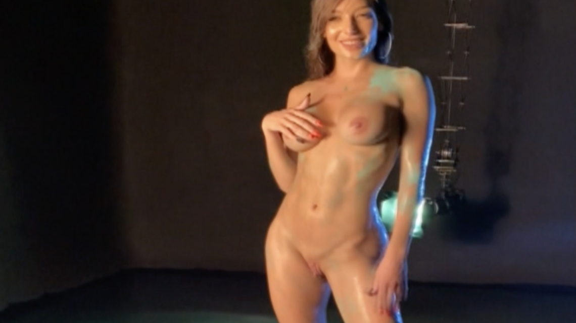 Cover for backstage post She is sooo WET;)